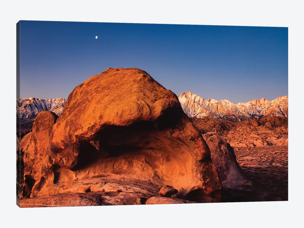 Alabama Hills National Recreation Area, Mt. Whitney, Sierra Nevada Mountain Range, California by Zandria Muench Beraldo 1-piece Canvas Art