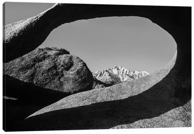 Arch, Alabama Hills National Recreation Area, Sierra Nevada Mountains, California Canvas Art Print