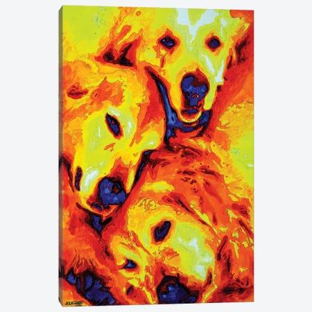 Golden Retriever Canvas Print #ZMH32} by Zak Mohammed Canvas Wall Art