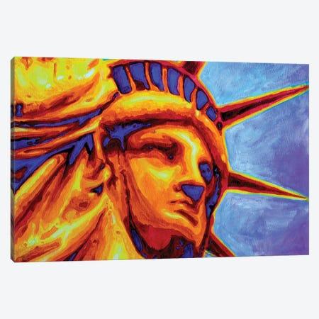 Liberty Canvas Print #ZMH4} by Zak Mohammed Canvas Art