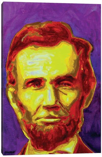 Honest Abe Canvas Art Print