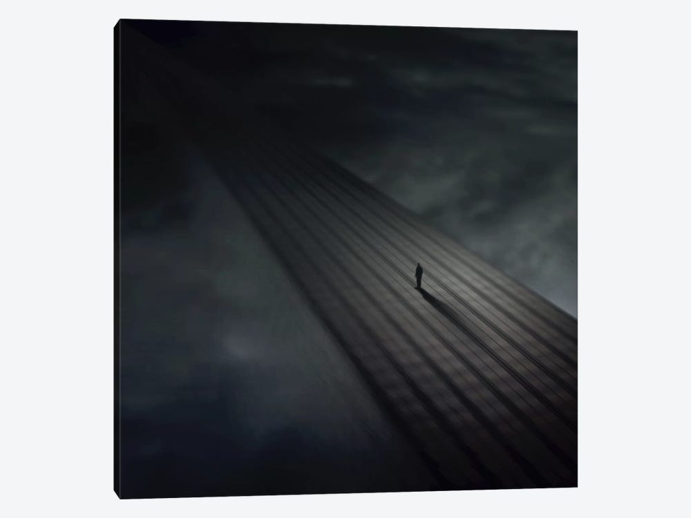 Distance by Zoltan Toth 1-piece Art Print
