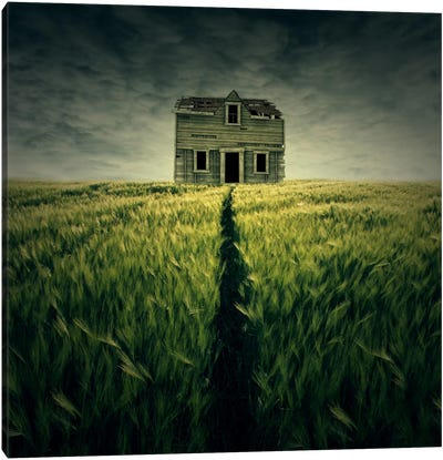 Haunted House Canvas Art Print
