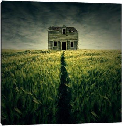 Haunted House Canvas Art Print