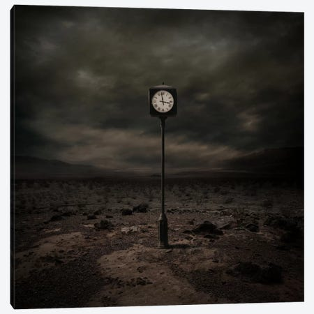 Out Of Time 3-Piece Canvas #ZOL32} by Zoltan Toth Canvas Print