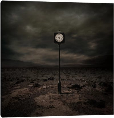 Out Of Time Canvas Art Print