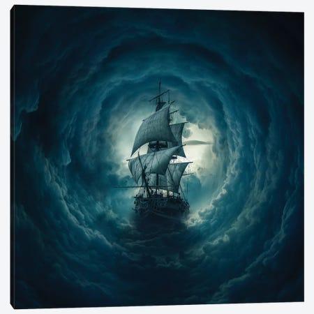 Cloud Ship Canvas Print #ZOL56} by Zoltan Toth Canvas Art
