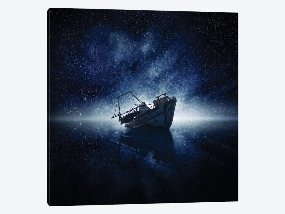 Stars by Zoltan Toth 1-piece Canvas Wall Art