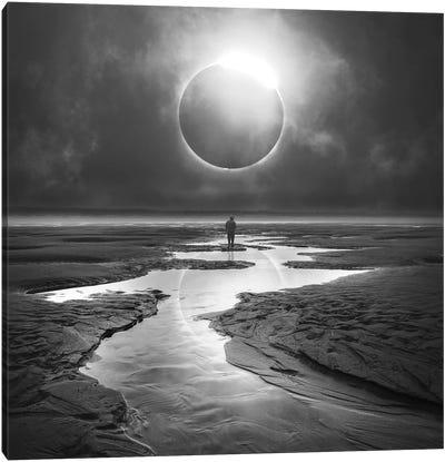 Eclipse Canvas Art Print