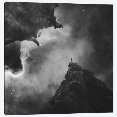 Galaxy Canvas Print #ZOL82} by Zoltan Toth Canvas Art