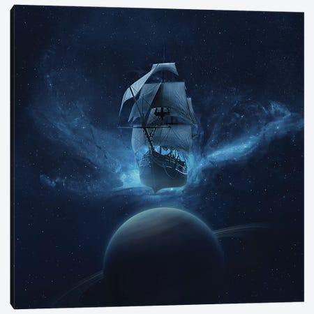 Space Canvas Print #ZOL86} by Zoltan Toth Art Print