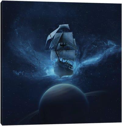 Space Canvas Art Print