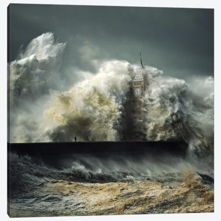 Flood Canvas Print #ZOL88} by Zoltan Toth Canvas Artwork