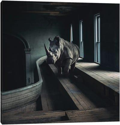 Lost Animals - Series Nr.6 Canvas Art Print