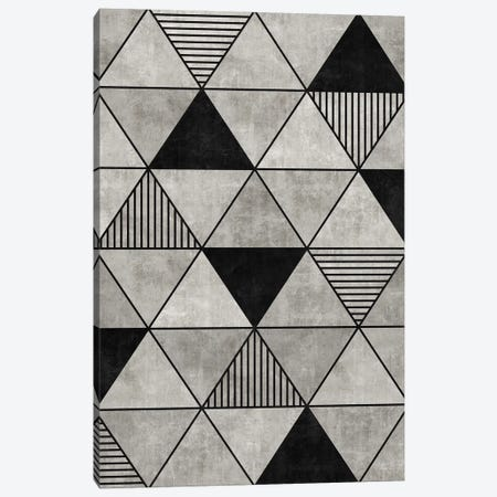 Concrete Triangles 2 Canvas Print #ZRA11} by Zoltan Ratko Canvas Art
