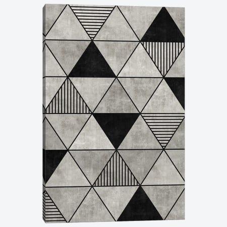 Concrete Triangles 2 Canvas Print #ZRA11} by Zoltan Ratko Canvas Art