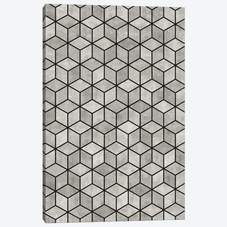 Concrete Cubes Canvas Print #ZRA13} by Zoltan Ratko Canvas Art