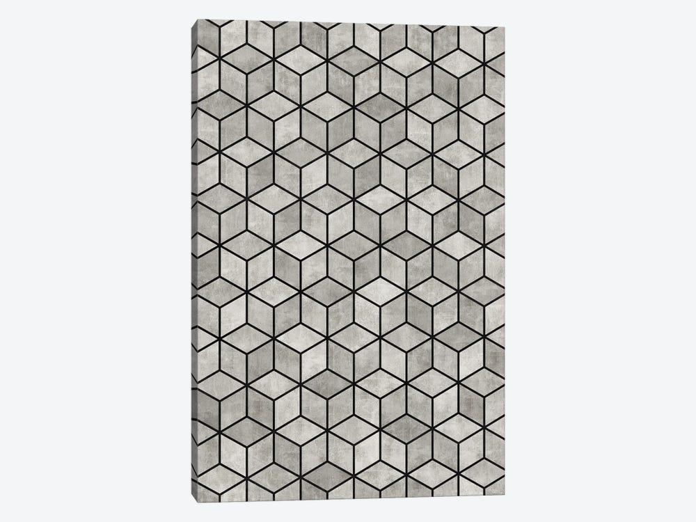 Concrete Cubes by Zoltan Ratko 1-piece Canvas Print