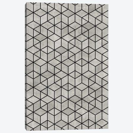 Random Concrete Cubes Canvas Print #ZRA1} by Zoltan Ratko Art Print