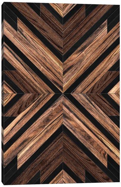 Urban Tribal Pattern No.3 - Wood Canvas Art Print