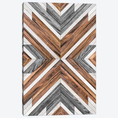 Urban Tribal Pattern No.4 - Wood Canvas Print #ZRA29} by Zoltan Ratko Canvas Print