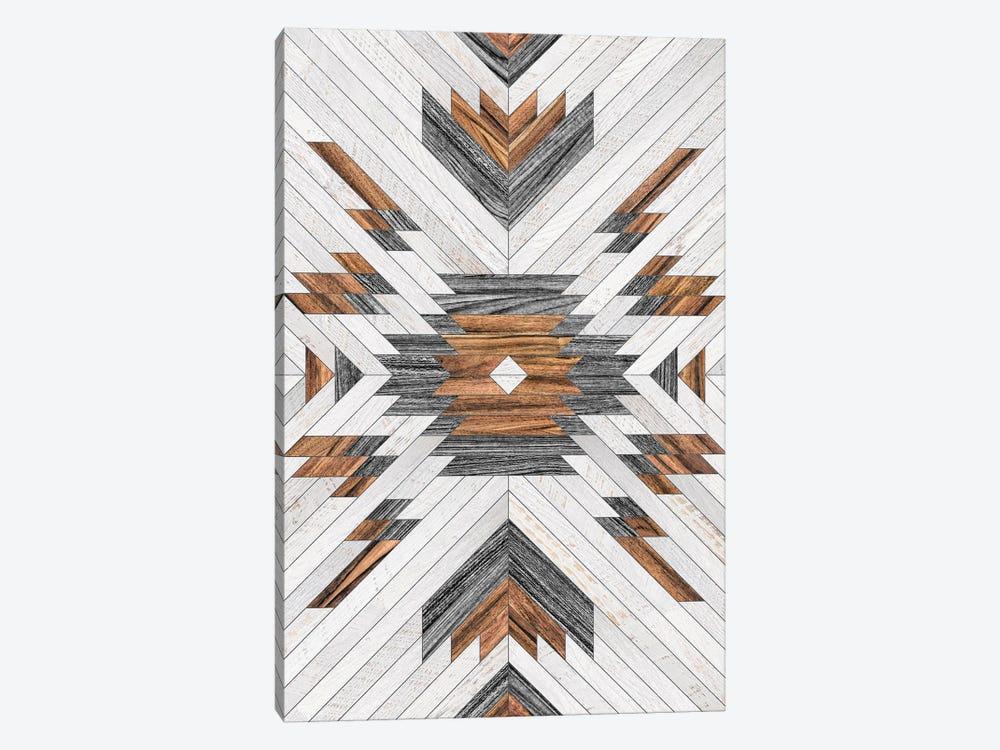 Urban Tribal Pattern No.8 - Aztec - Wood by Zoltan Ratko 1-piece Art Print