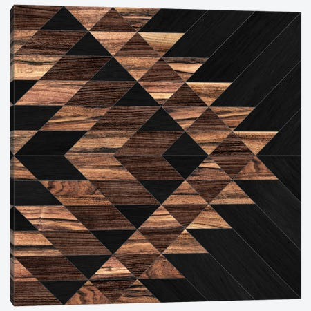 Urban Tribal Pattern No.11 - Aztec - Wood Canvas Print #ZRA36} by Zoltan Ratko Canvas Print
