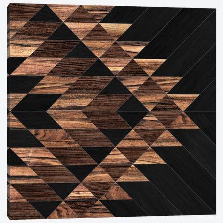 Urban Tribal Pattern No.11 - Aztec - Wood Canvas Print #ZRA36} by Zoltan Ratko Canvas Print