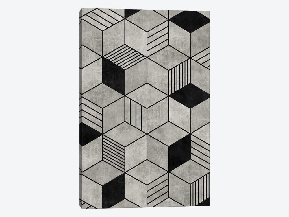 Concrete Cubes 2 by Zoltan Ratko 1-piece Canvas Wall Art