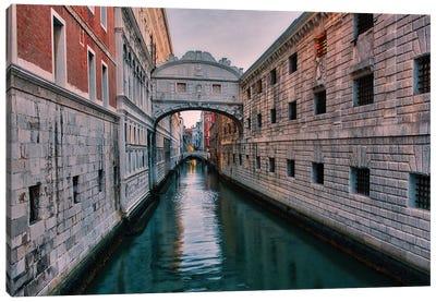 Bridge Of Sighs (Venice, Italy) Canvas Art Print