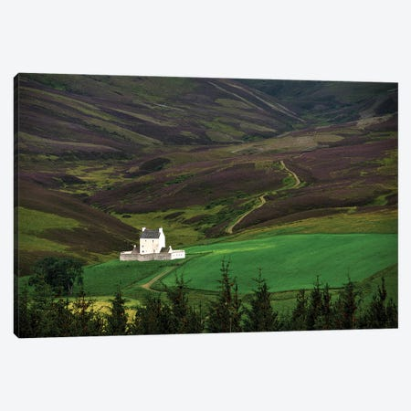 Corgarff Castle Aberdeenshire Scotland Canvas Print #ZSC17} by Zoe Schumacher Canvas Wall Art