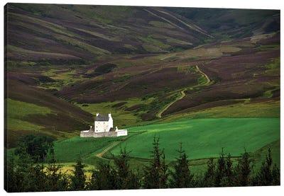 Corgarff Castle Aberdeenshire Scotland Canvas Art Print