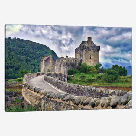 Eilean Donan Castle Canvas Print #ZSC21} by Zoe Schumacher Canvas Wall Art