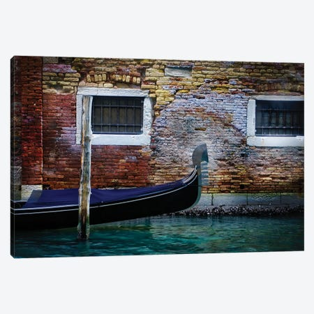Gondola's Fèrro (Meaning Iron). Canvas Print #ZSC25} by Zoe Schumacher Canvas Print