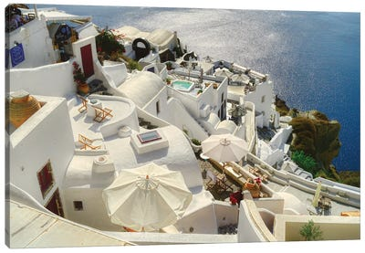Santorini Oia Greece Canvas Art Print