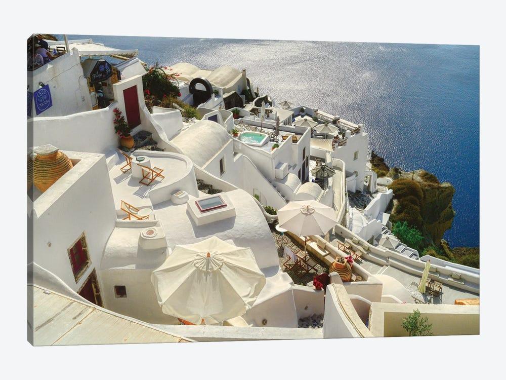 Santorini Oia Greece by Zoe Schumacher 1-piece Canvas Wall Art