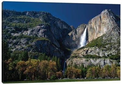 Upper And Lower Yosemite Falls Canvas Art Print