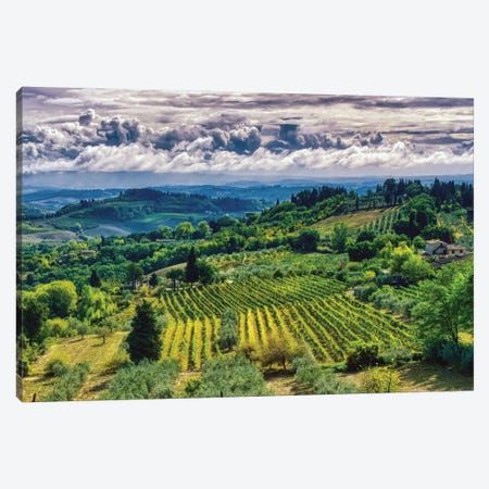 Tuscany Canvas Print #ZSC49} by Zoe Schumacher Canvas Art