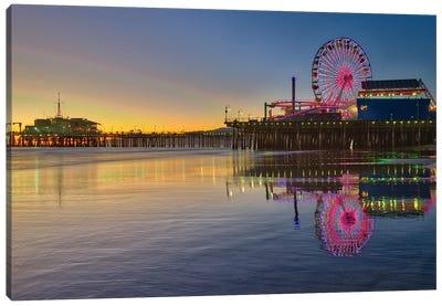 Santa Monica Pier Canvas Art Print