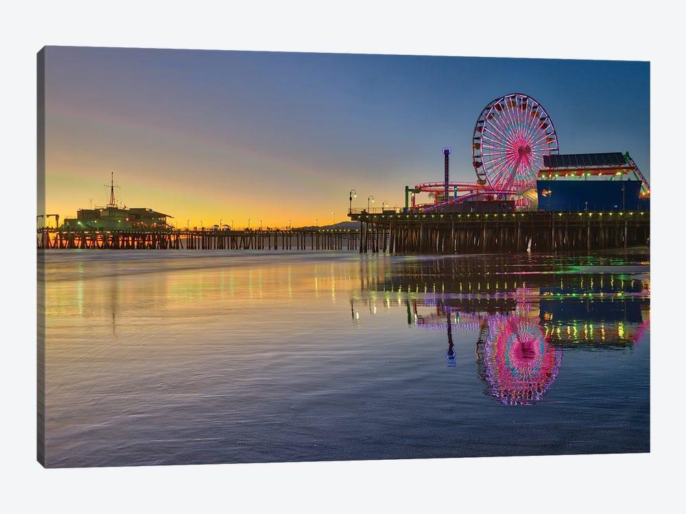 Santa Monica Pier by Zoe Schumacher 1-piece Canvas Print