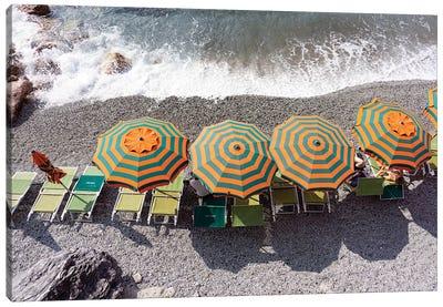 Monterosso - Beach I Canvas Art Print