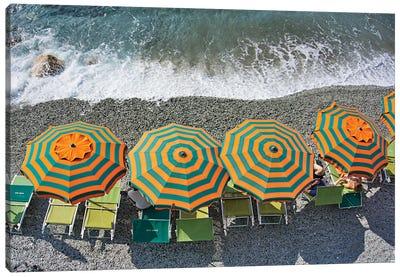 Monterosso - Beach II Canvas Art Print