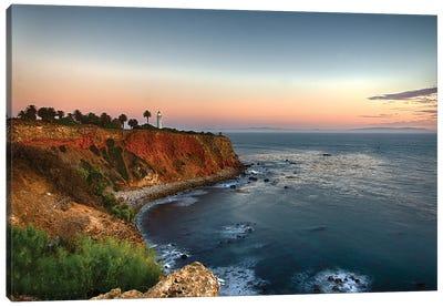 Palos Verdes Lighthouse, California Canvas Art Print