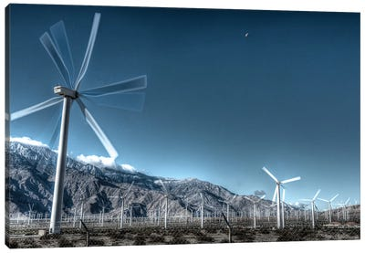 Wind Farms Of Palm Springs Canvas Art Print