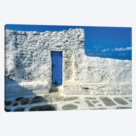 Doorway To The Aegean Sea Canvas Print #ZSC7} by Zoe Schumacher Canvas Print