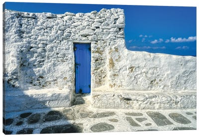 Doorway To The Aegean Sea Canvas Art Print