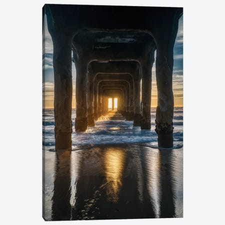 Welcome Ray Of Light Canvas Print #ZSC87} by Zoe Schumacher Art Print