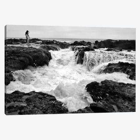 Edge Of The Sea Canvas Print #ZSC97} by Zoe Schumacher Canvas Wall Art