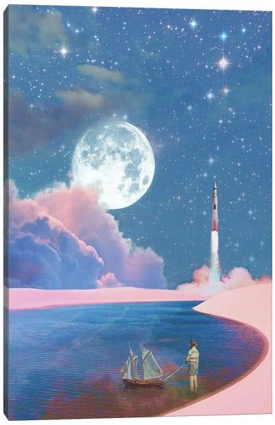 Launch Day Canvas Art Print