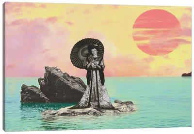 Pastel Sunset Canvas Art Print